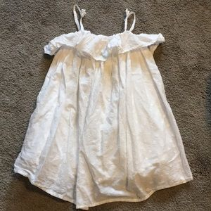 Genuine kids Osh Kosh white tank dress 4t